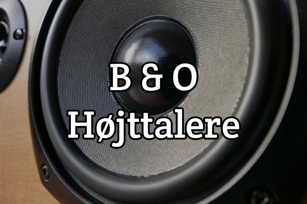 B & O Højtalere
