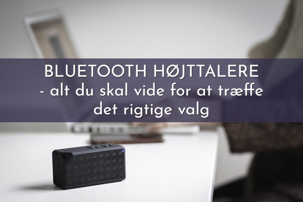 Bluetooth højttalere