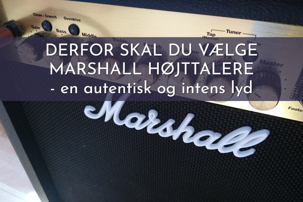 Marshall Højtalere