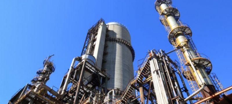 stor produktion af naturgas