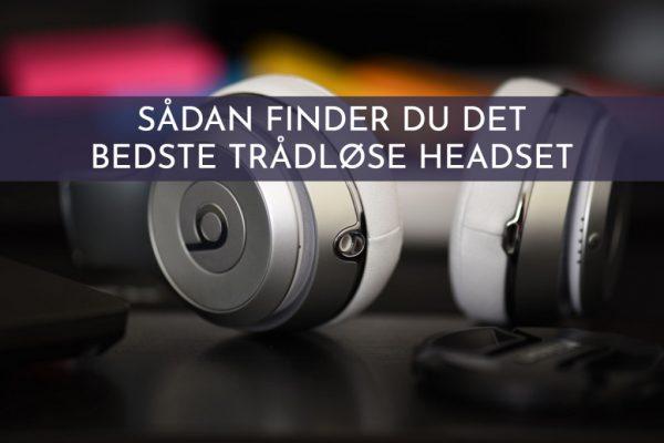 trådløst headset